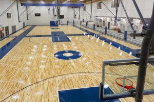 стационарная система спортивного паркета Robbins